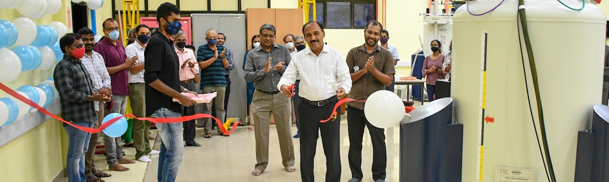 Inauguration of 500MHz solid-state NMR