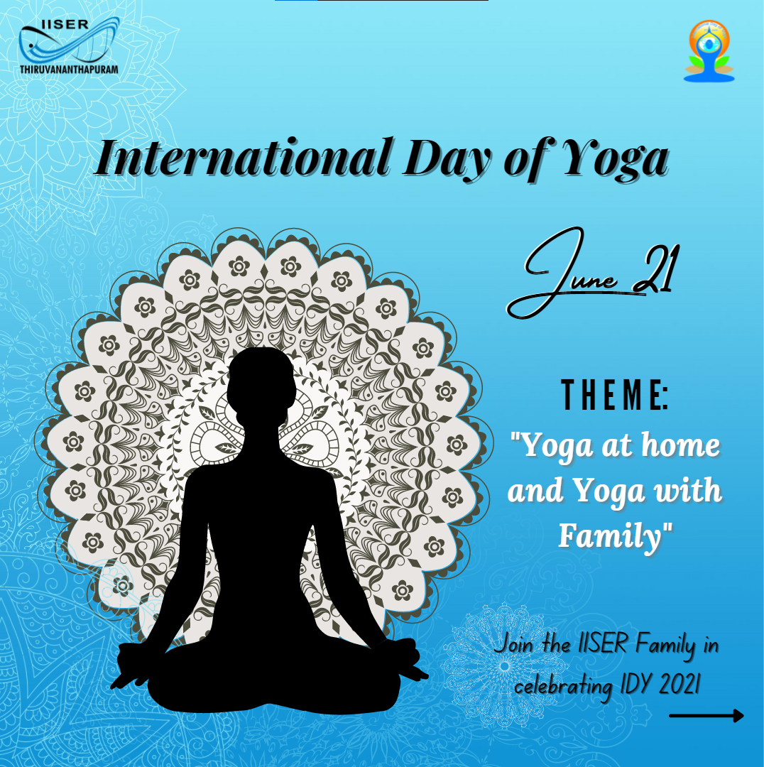 International Yoga Day Poster Front