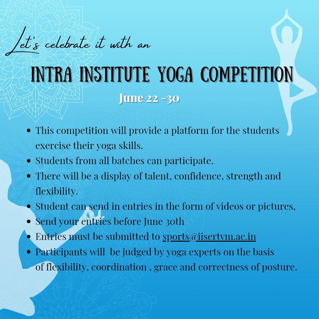 International Yoga Day Poster Rear