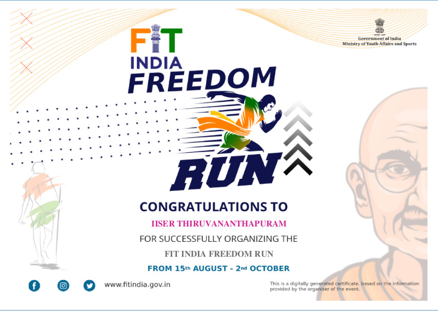 Fit India Certificate